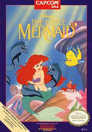 disney u0027s mermaid box shot nes gamefaqs