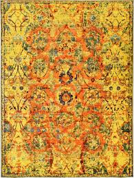 Orange Modern Rug by 50 Most Dramatic Gorgeous Colorful Area Rugs For Modern Living Rooms