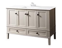 48 Inch Bathroom Vanities by 42 Inch Bathroom Vanity With Offset Sink Home Design Ideas