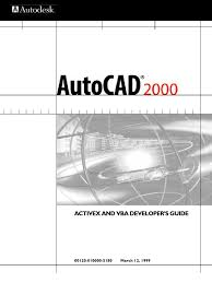 programming autocad 2004 activex and vba developer u0027s guide