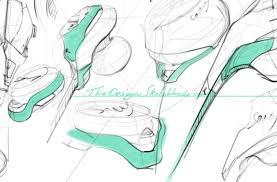 sketching sony earphone with sketchbook pro on wacom cintiq 22hd