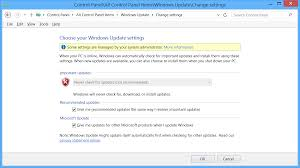 manually update windows manually checking for windows updates in an sccm controlled
