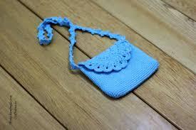 crochet cute baby bag and purse craft ideas