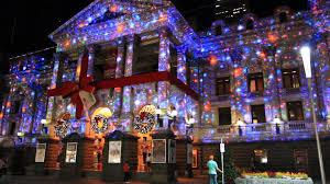 Stoneham Zoo Lights by Christmas Greeting Wallpaper Walldevil Best Free Hd Desktop Blue