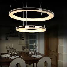 Led Dining Room Lights Modern Led Chandelier Acrylic Pendant L Living Room Dining Room