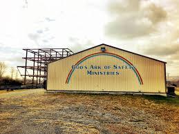 in the middle noah u0027s ark being rebuilt here
