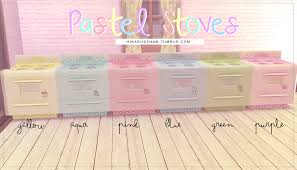 pastel stoves by hikariichaan6 colorstag me if you use them