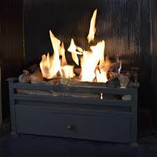 traditional montagu bio fire basket