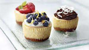 Cheesecake Decoration Fruit Philadelphia Mini Cheesecakes Kraft Recipes