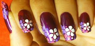 one stroke nail art step step image collections nail art designs