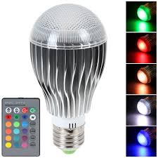 Rgb Led Light Bulb With Remote by Led 16 Color Changing Rgb Magic Light Bulb Lamp Slapgadgets