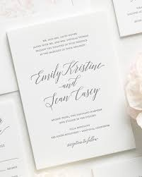 garden romance letterpress wedding invitations letterpress
