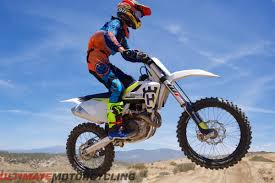 450 motocross bikes for sale 2017 husqvarna fc 450 first ride review 10 fast facts