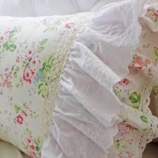 Roses Duvet Cover Rose Linen