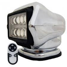 go light magnetic base golight led stryker searchlight w wireless handheld remote