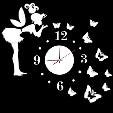 aliexpress com buy 3d wall clock wall mirror sticker clock watch