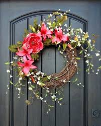 spring wreaths for front door spring wreath for front door best summer door wreaths ideas on