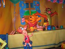 adventures winnie pooh attraction