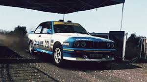bmw m3 rally dirt rally bmw e30 m3 evo rally exhaust video youtube
