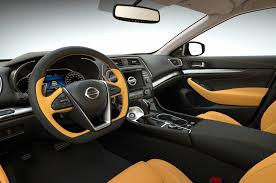 nissan pathfinder leather seats 2016 nissan maxima first look motor trend