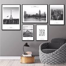 Livingroom Wall Art Online Get Cheap Paris Wall Art Aliexpress Com Alibaba Group