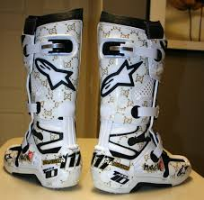 tech 10 motocross boots magik s c kustoms alpinestar tech 10 boot graphics