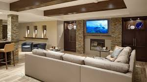Basement Room by Rec Room Re Imagined Basement Remodel Drury Design