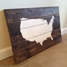 united states map wood wall art united states map wood wall