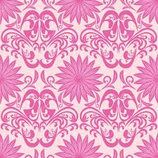 Purple Damask Wallpaper by Pink Seamless Floral Damask Wallpaper U2014 Stock Vector