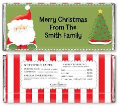 christmas candy bar wrapper template best business template