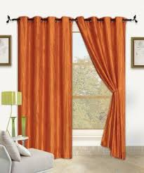 Orange Panel Curtains Vcny Abbey Sequence Grommet Curtain Panel Wall Decor U0026 Window