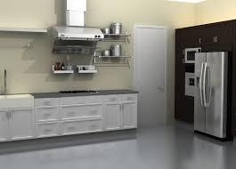 metallic kitchen cabinets cadel michele home ideas ikea metal