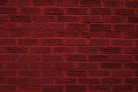 Dark Brick Wall Background Red Colored Brick Wall Texture Picture Free Photograph Photos