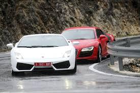 Lamborghini Gallardo Lp560 4 - audi r8 v lamborghini gallardo lp560 4 pictures audi r8 evo