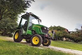 john deere updates compact tractor range