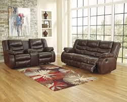 Leather Match Upholstery Living Room Image Reclining Sofa And Loveseat Sets Brown Bonded