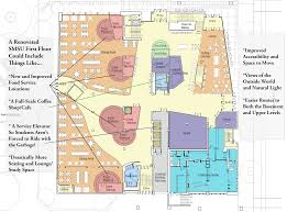 Coffee Shop Floor Plans Portland State Smith Memorial Student Union 2020 Floor Plans