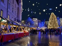 christmas lights in ljubljana civado italy