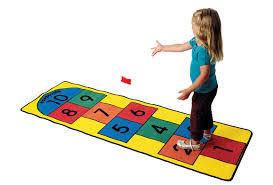 hopscotch play carpet