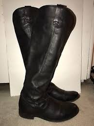 womens leather boots size 12 dolce vita black leather boots s size 12 ebay