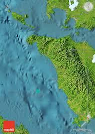 san jose mindoro map satellite map of occidental mindoro