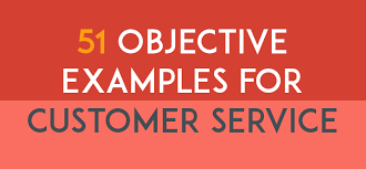 Resume Objective Example For Customer Service by 574 Resume Objective Examples For Any Career Dotxes