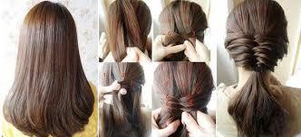 Schnelle Frisuren F Lange Haare Mit Pony by Schnelle Frisuren Für Mittellange Haare Mit Pony Mode Frisuren