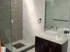 Small Ensuite Bathroom Ideas Metallic Bathroom Tile Idea Ensuite In The Hotondo Homes