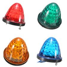 led side marker lights 24v 14 led side marker light l indicator truck lorry van caravan