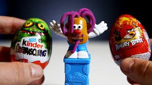 Potato Head Kit Disguise Potato Head Play Doh Angry Birds Surprise Egg Kinder