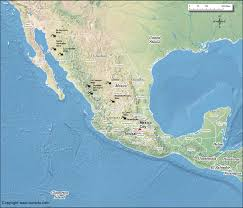 Chiapas Mexico Map by Mexico Gold Mines Map World Gold Mines