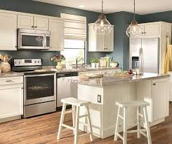 lowes kitchen cabinets white diamond now at lowe s caspian collection transitional cottage