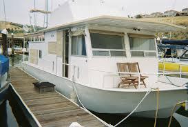 1972 river queen 40 u0027 steel houseboat california river queen