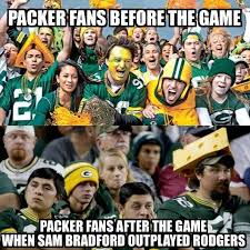 Sam Bradford Memes - 23 best memes of aaron rodgers the green bay packers choking